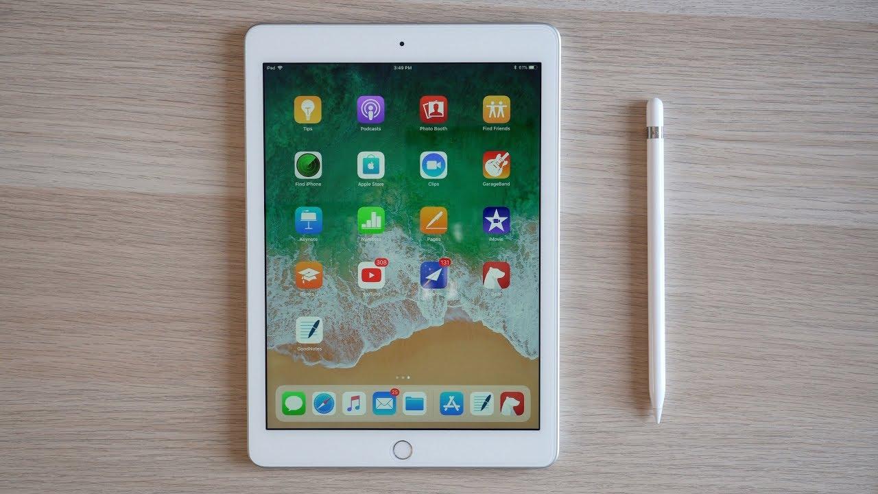 iPad de sexta geração com Apple Pencil