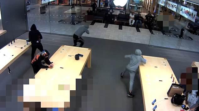 iPhones roubados de uma loja da Apple em NY
