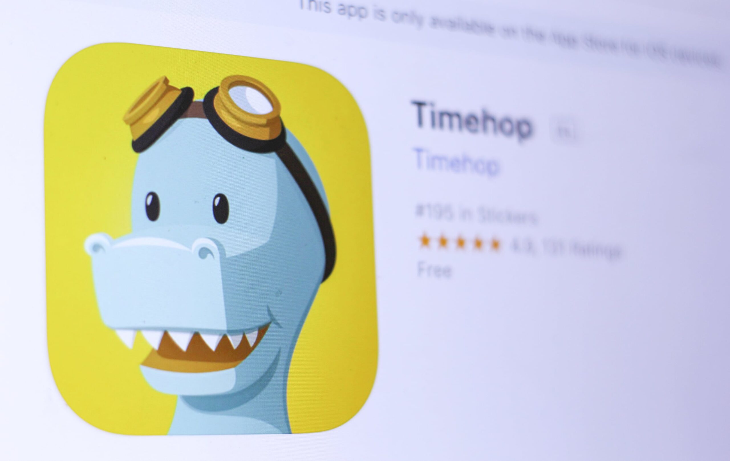 Timehop na App Store