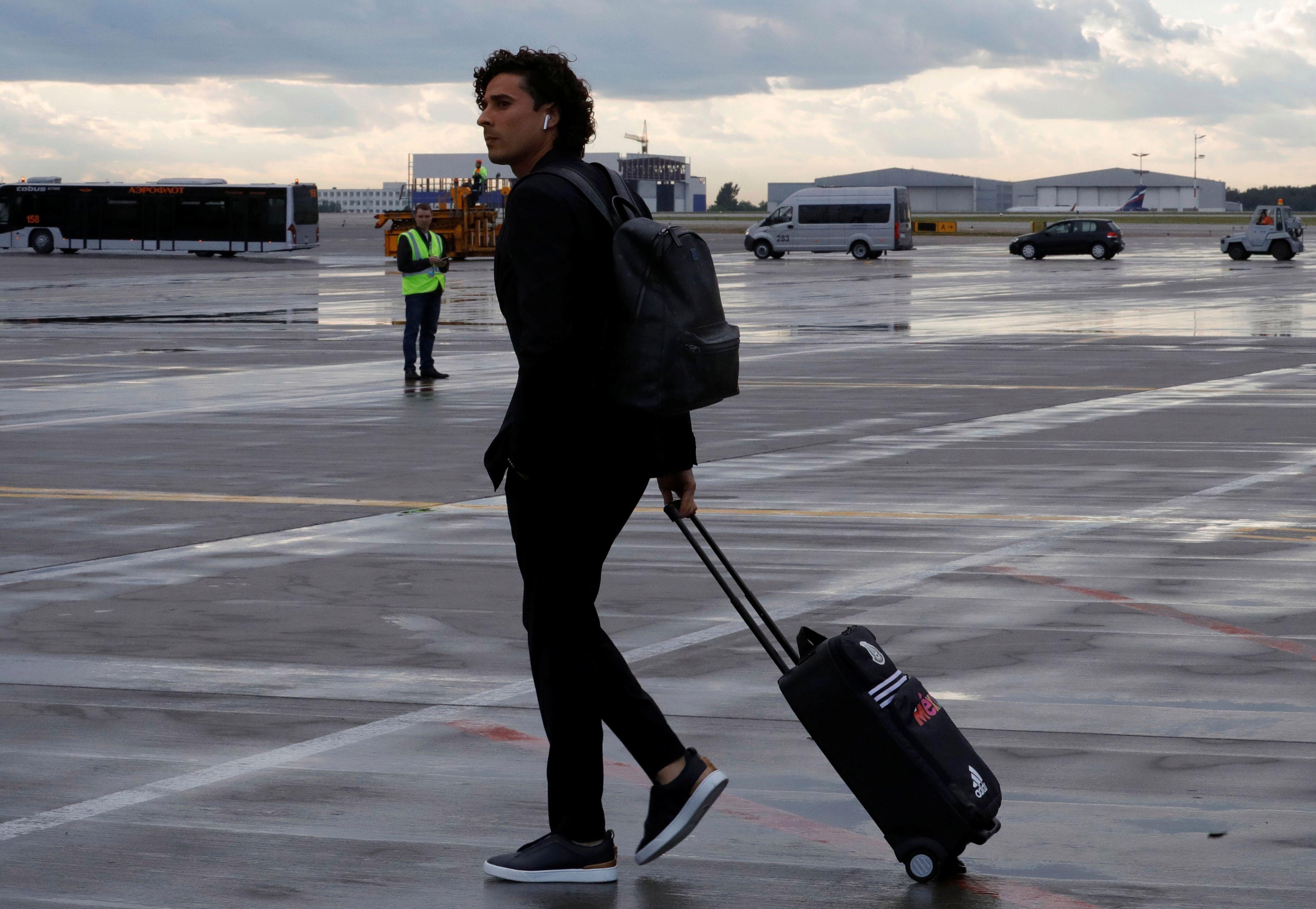Guilhermo Ochoa, da seleção mexicana | Reuters (Tatyana Makeyeva)