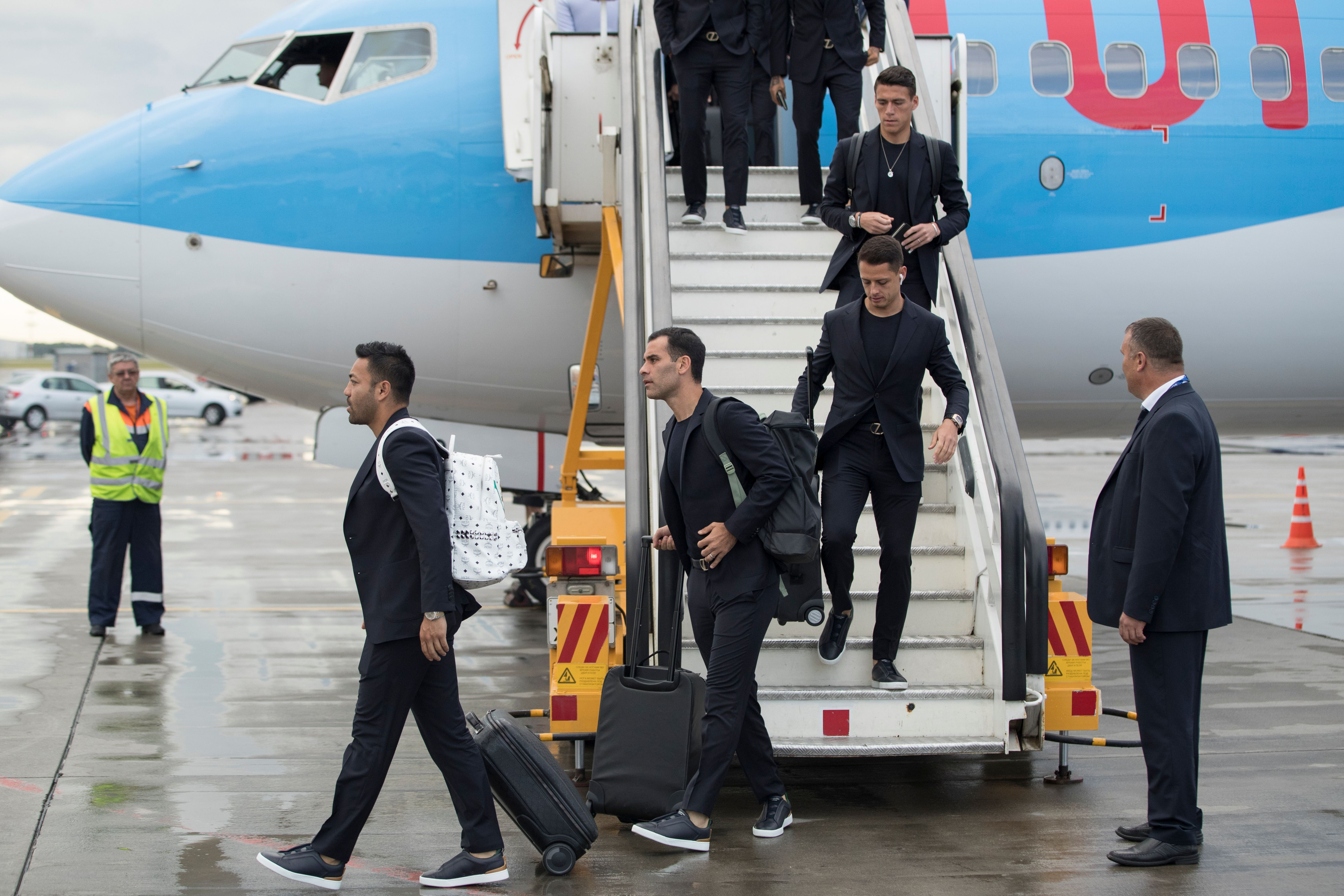 Javier Hernandez, da seleção mexicana | AP Photo (Pavel Golovkin)