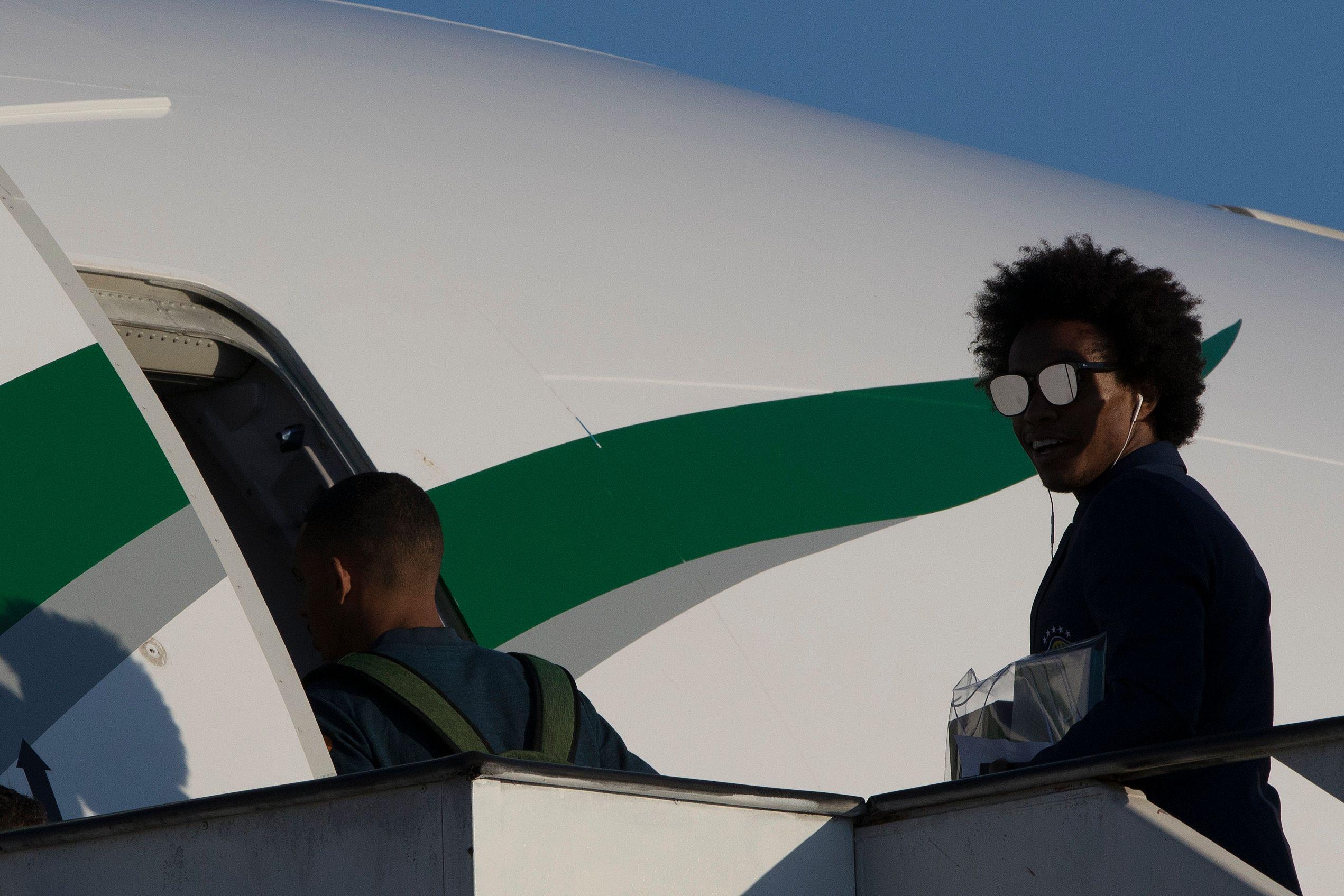 Willian, da seleção brasileira | AP Photo (Leo Correa)