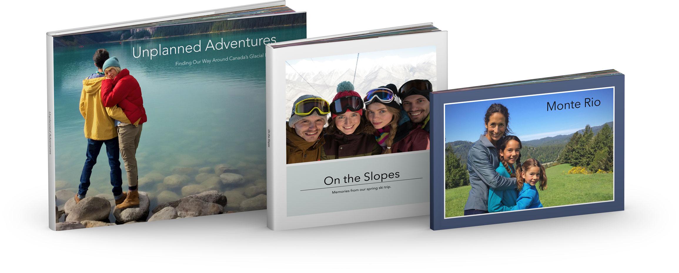 Livro de fotos impresso pela Apple