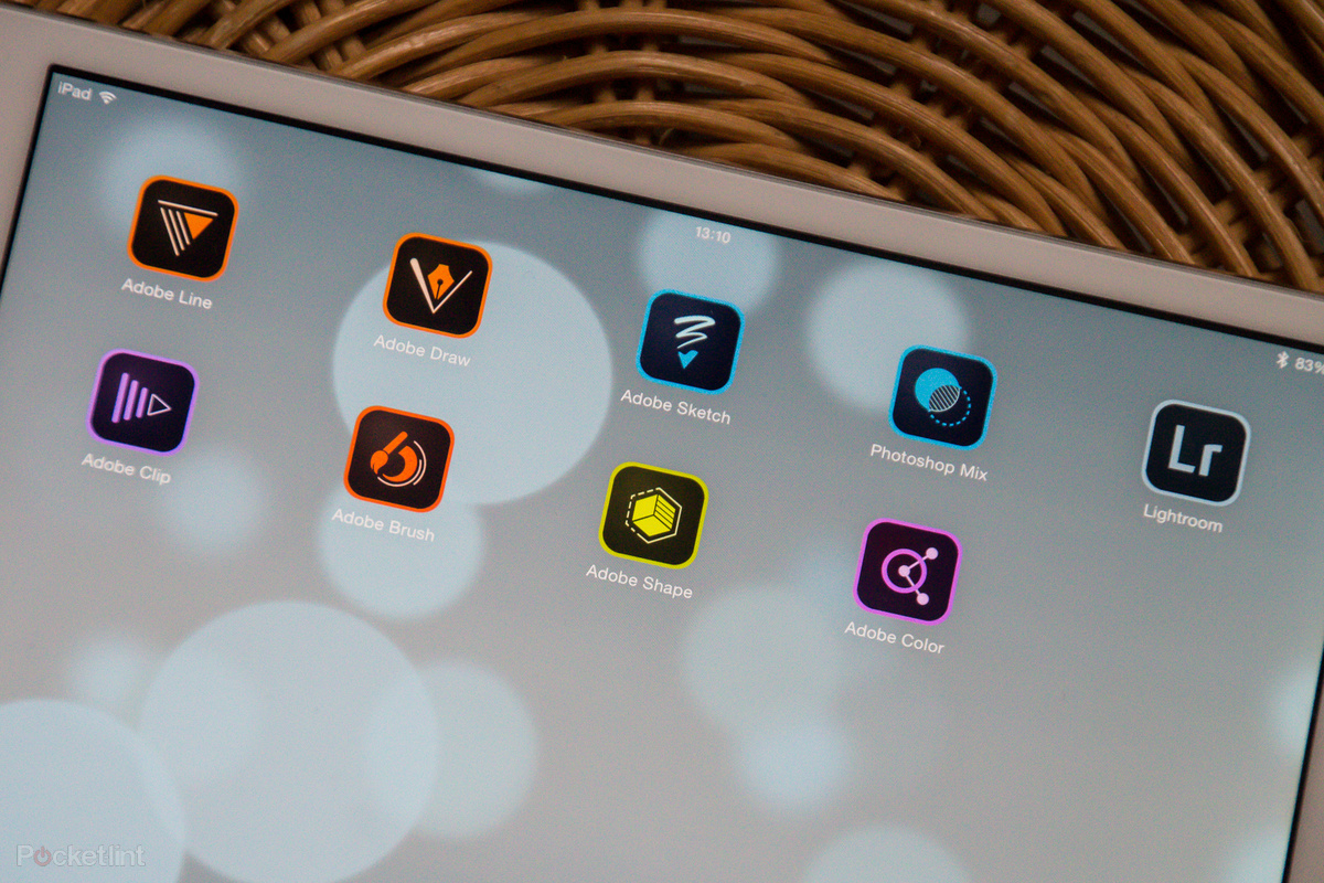 Suíte da Adobe no iPad