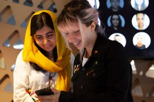 Malala na Apple Developer Academy no Brasil