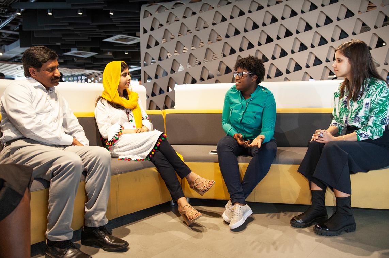 Malala na Apple Developer Academy no Brasil