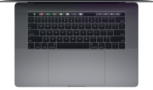 Teclado do MacBook Pro (2018)
