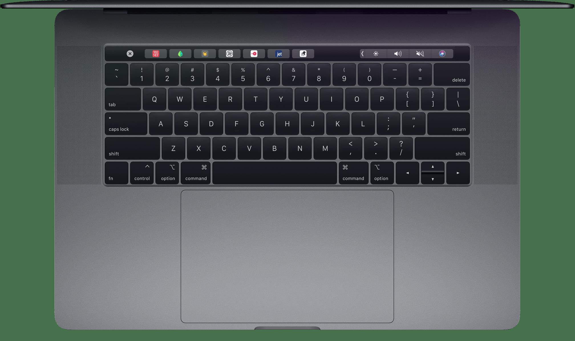 Teclado do MacBook Pro (2018)