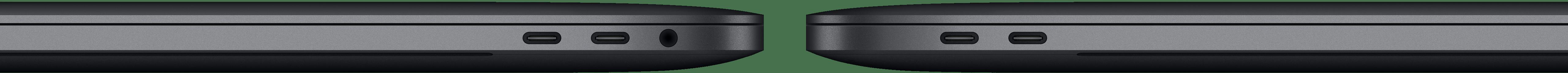Portas dos MacBooks Pro com Touch Bar