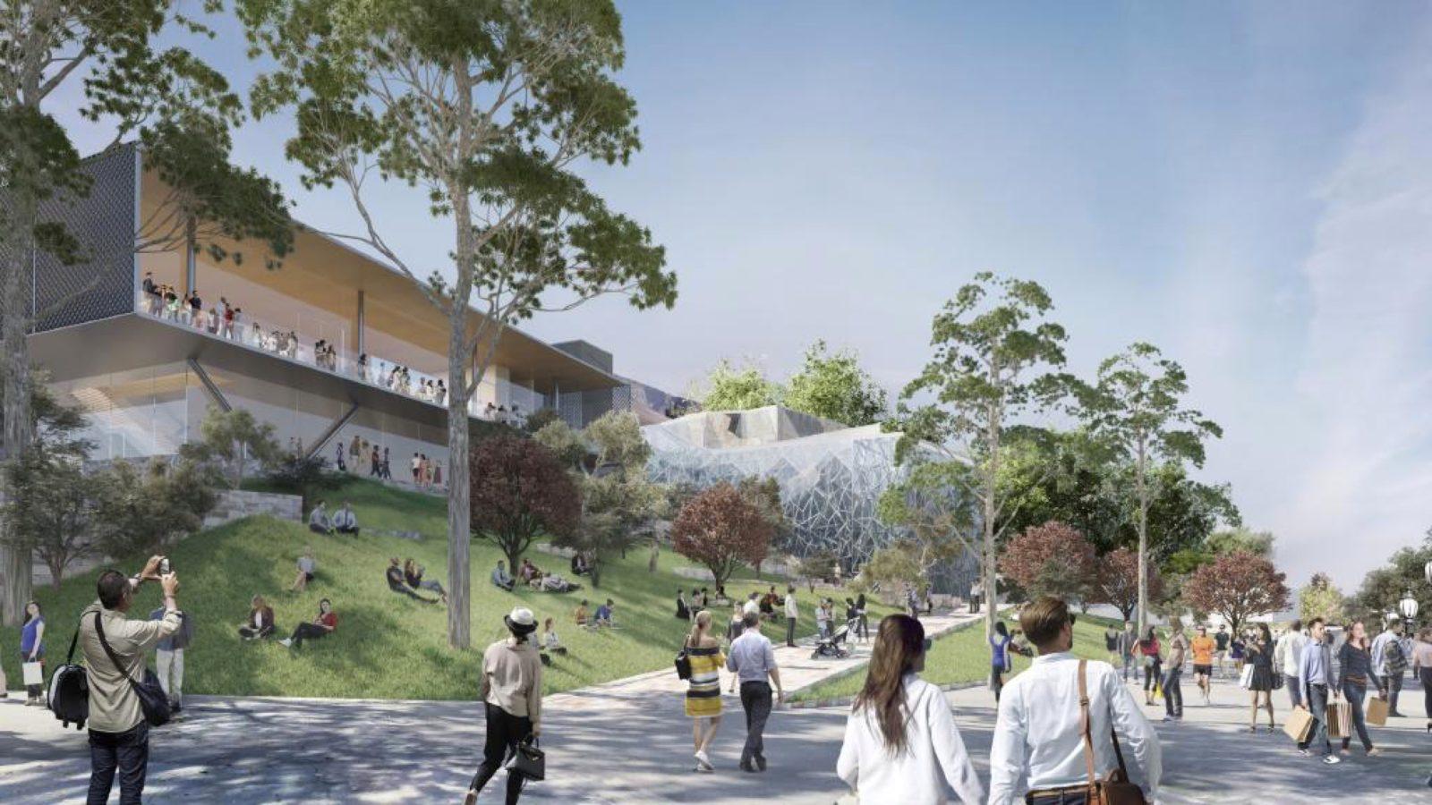 Novo projeto da Apple Federation Square, em Melbourne, Austrália