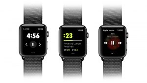Nike Training Club no Apple Watch