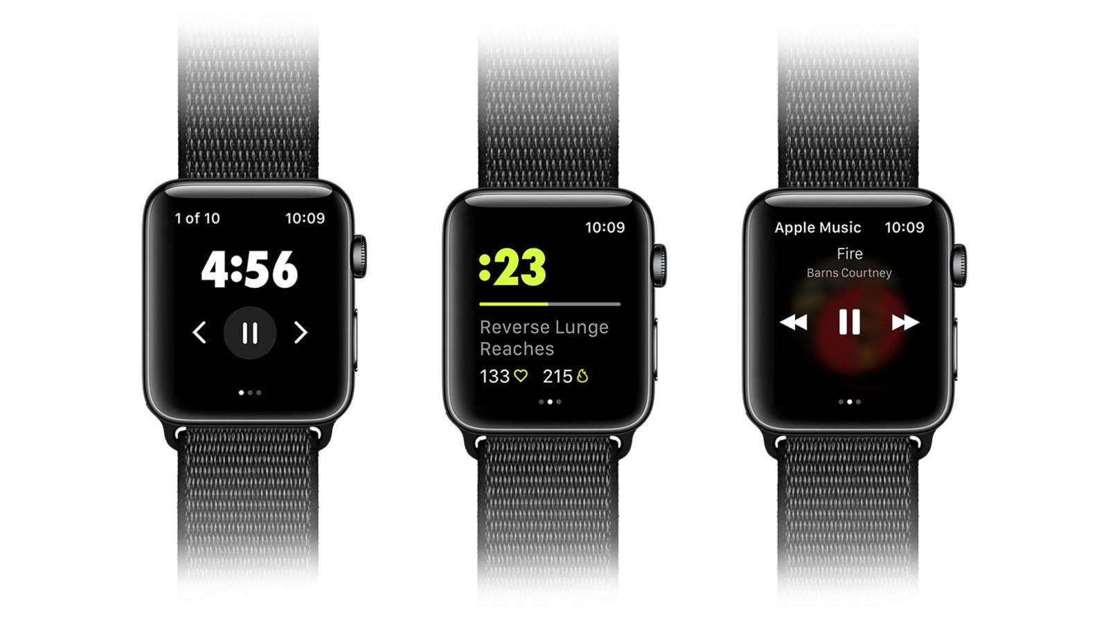 Nike Training Club no Apple Watch