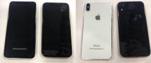 "Protótipos dos iPhones de 6,5""e 6,1"" de 2018"