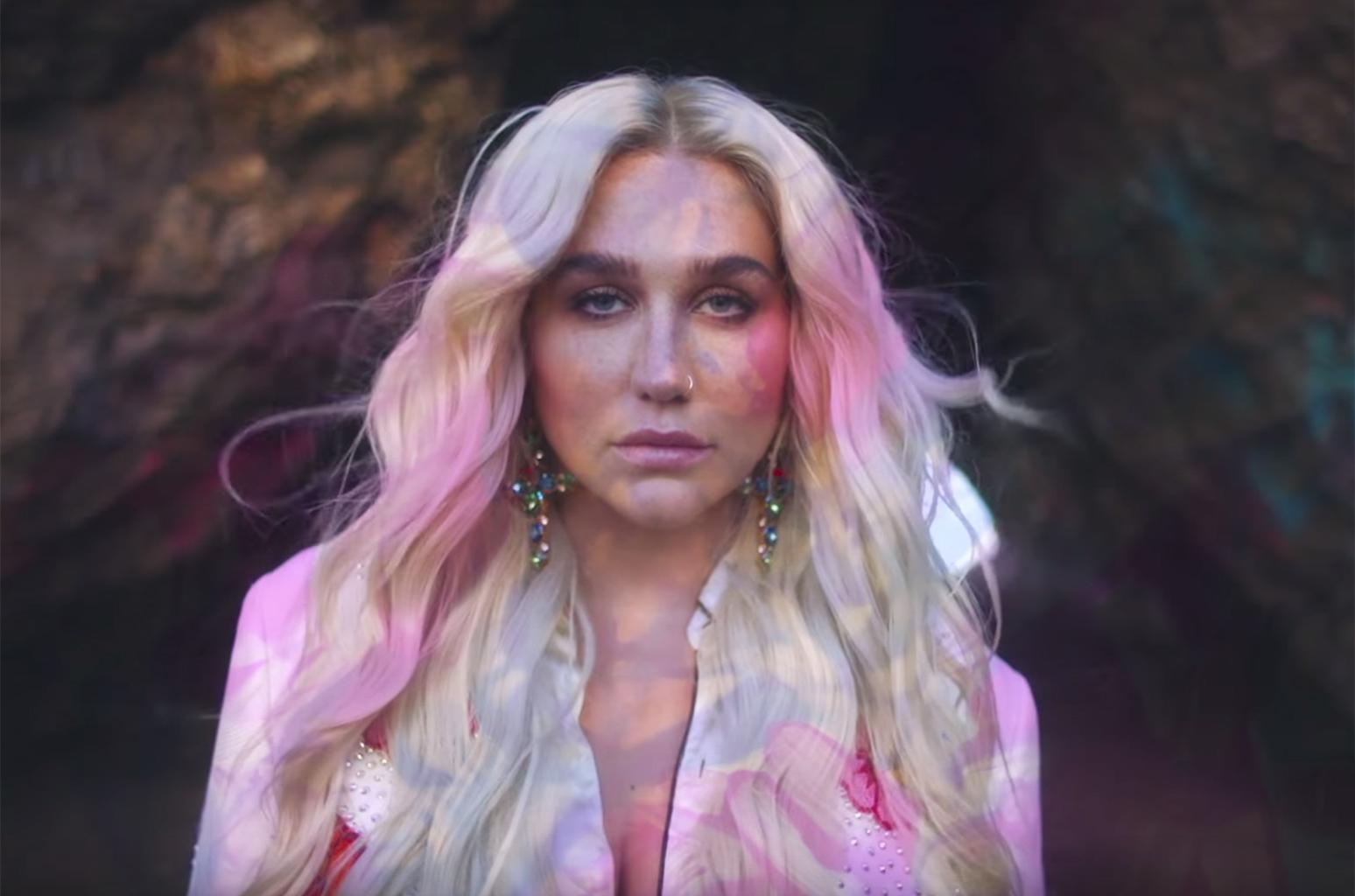 """Kesha na divulgação de """"Rainbow - The Film"""", exclusivo para o Apple Music"""