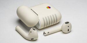 AirPods da ColorWare com design do Apple IIe