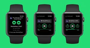 App Outcast para watchOS