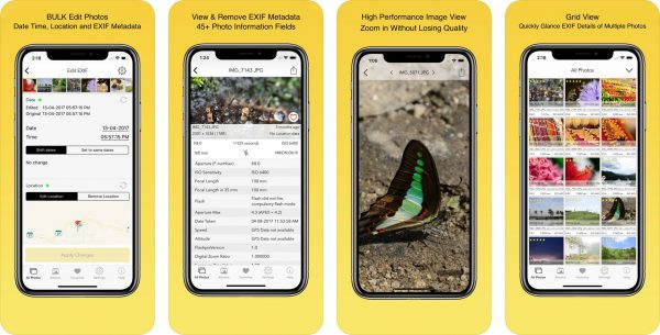 App EXIF Viewer Viewer by Fluntro para iOS