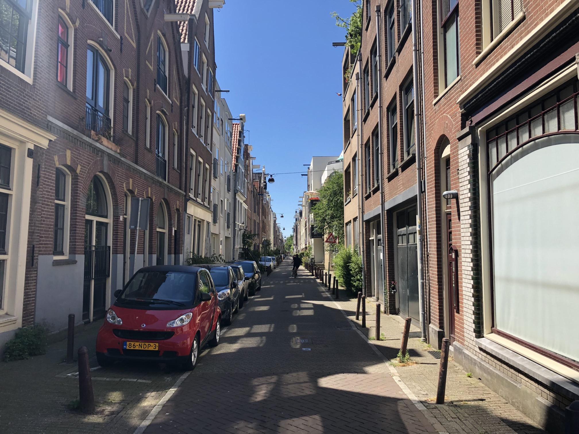 Rua em Amsterdã