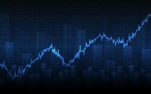 Gráfico genérico de ações