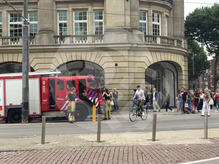 Bombeiros na Apple Leidseplein