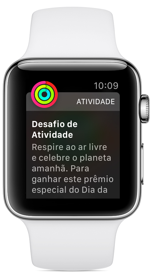 Conquistas especiais no Apple Watch