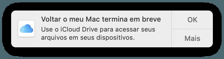 """Fim do """"Voltar ao Meu Mac"""""""