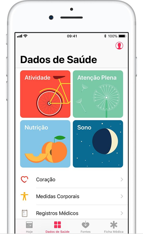 Dados de Saúde do iOS