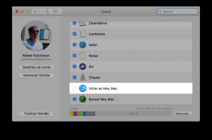 """Recurso """"Voltar ao Meu Mac"""" do macOS"""