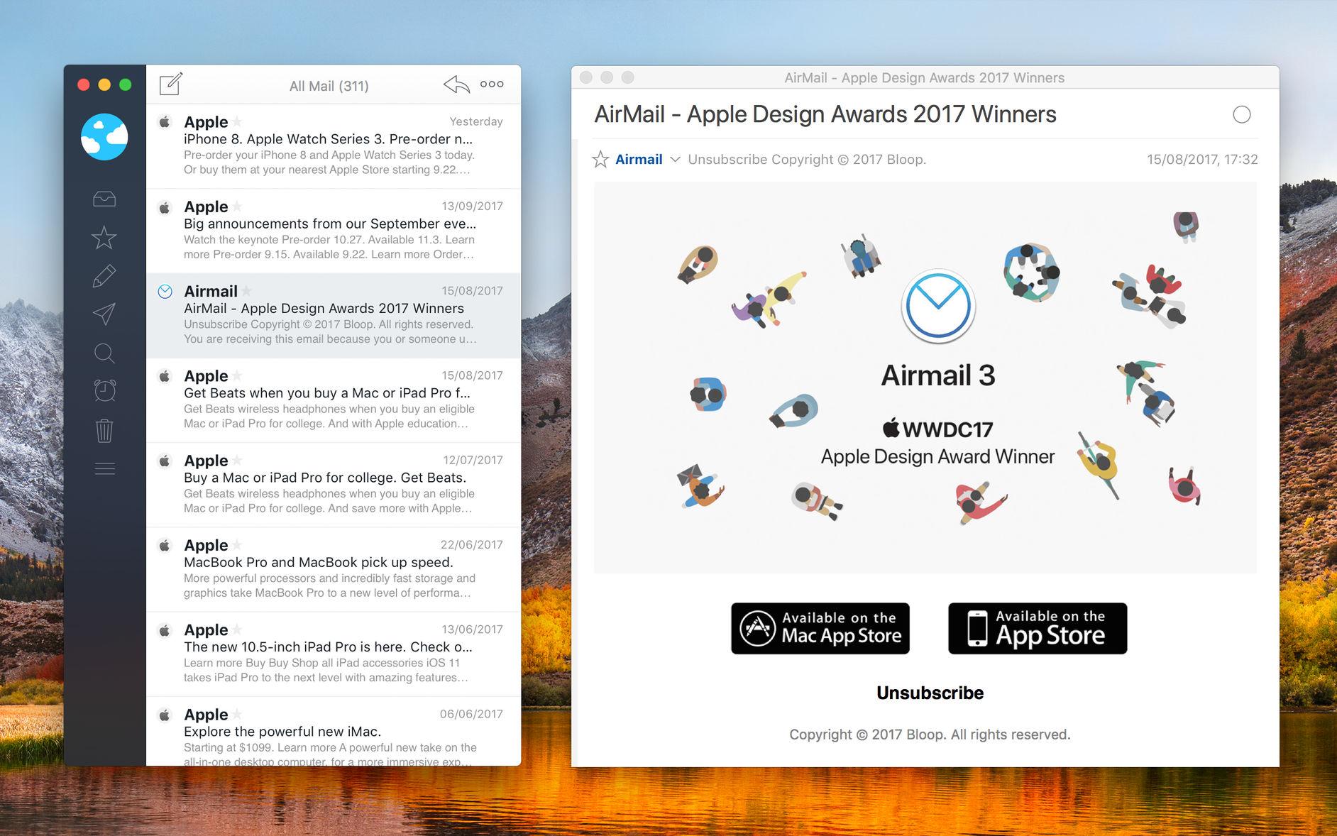 Airmail para macOS