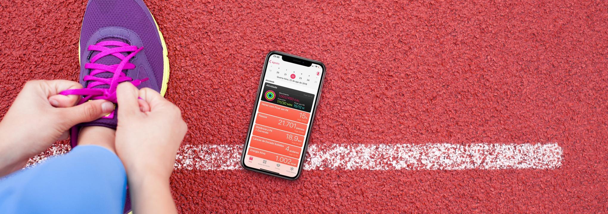 Informações do app Saúde