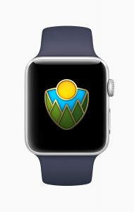 Desafio de parques do Apple Watch