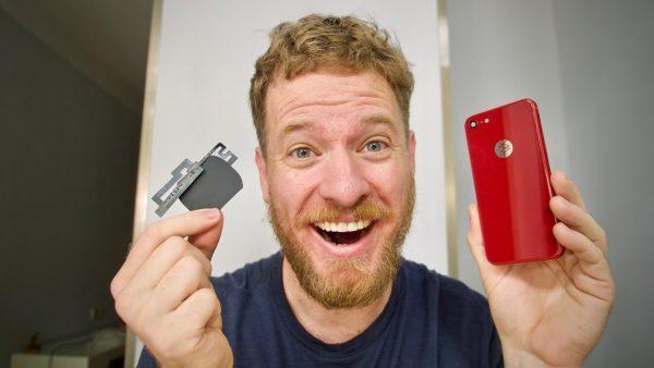 YouTuber mostra como adicionou recarga sem fio a um iPhone 7