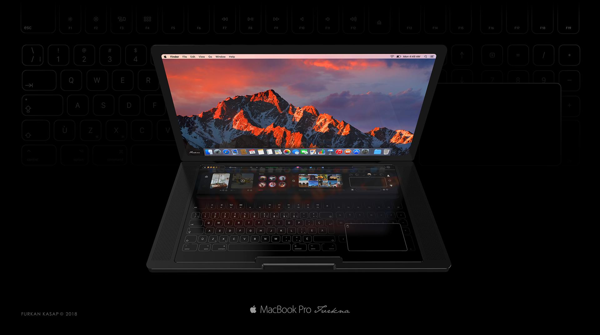 Conceito: MacBook Pro Touch