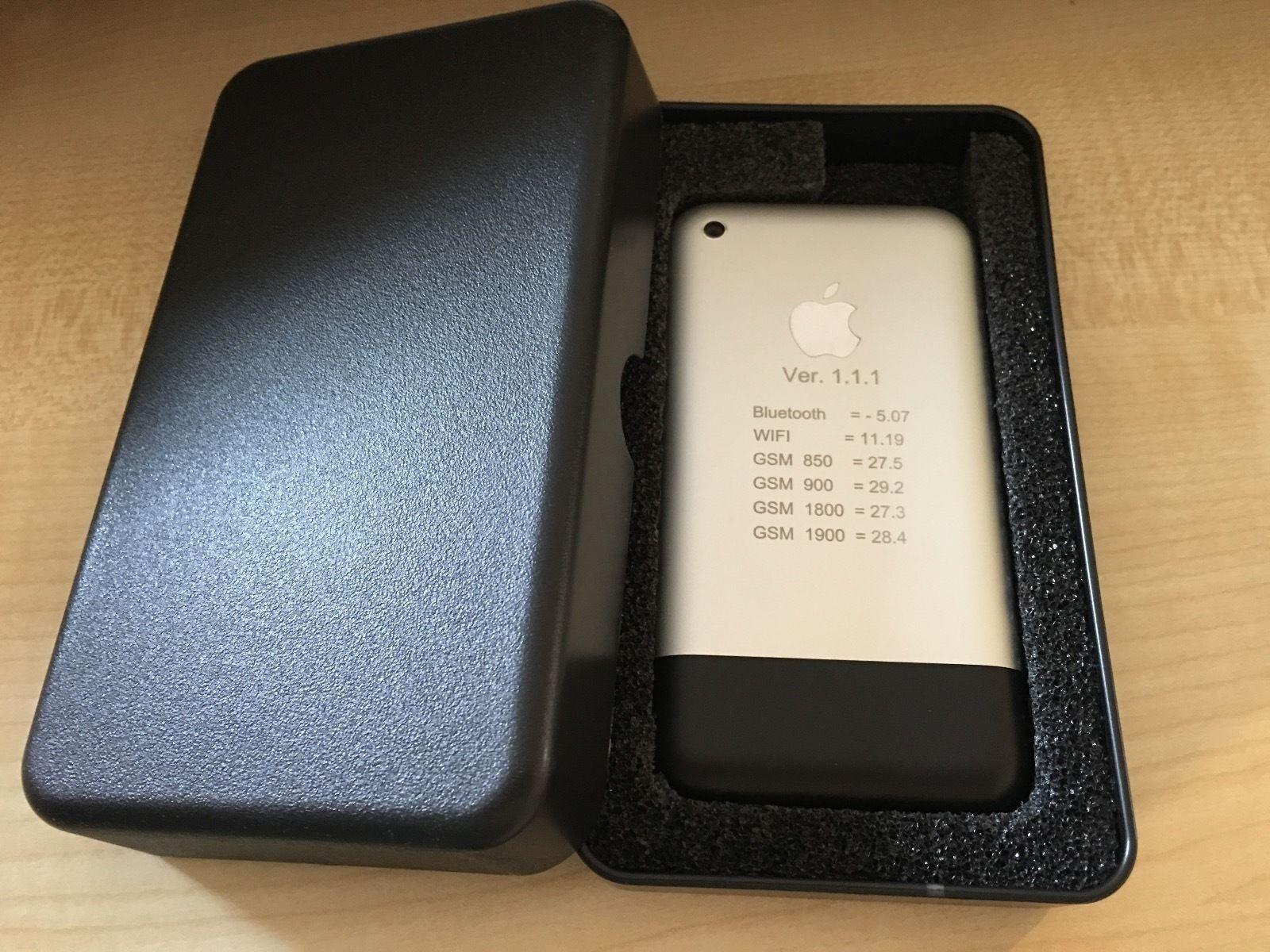Protótipo iPhone 2G em leilão