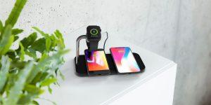 Carregadores sem fio para múltiplos dispositivos da ZENS