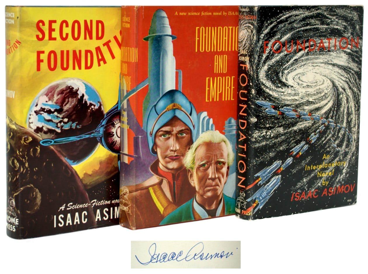 """Trilogia """"Fundação"""", de Isaac Asimov"""