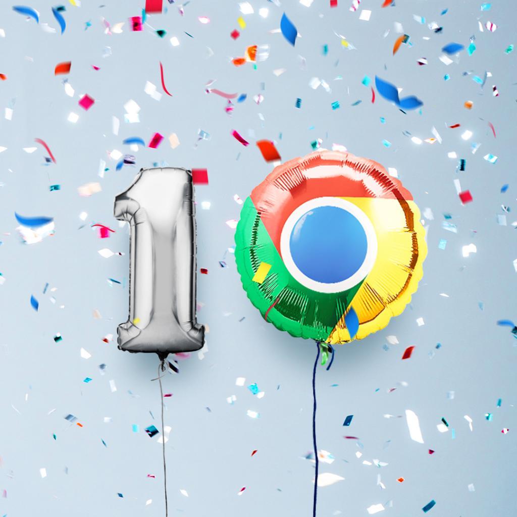 10 anos do Chrome