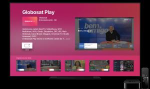 App Globosat Play para tvOS