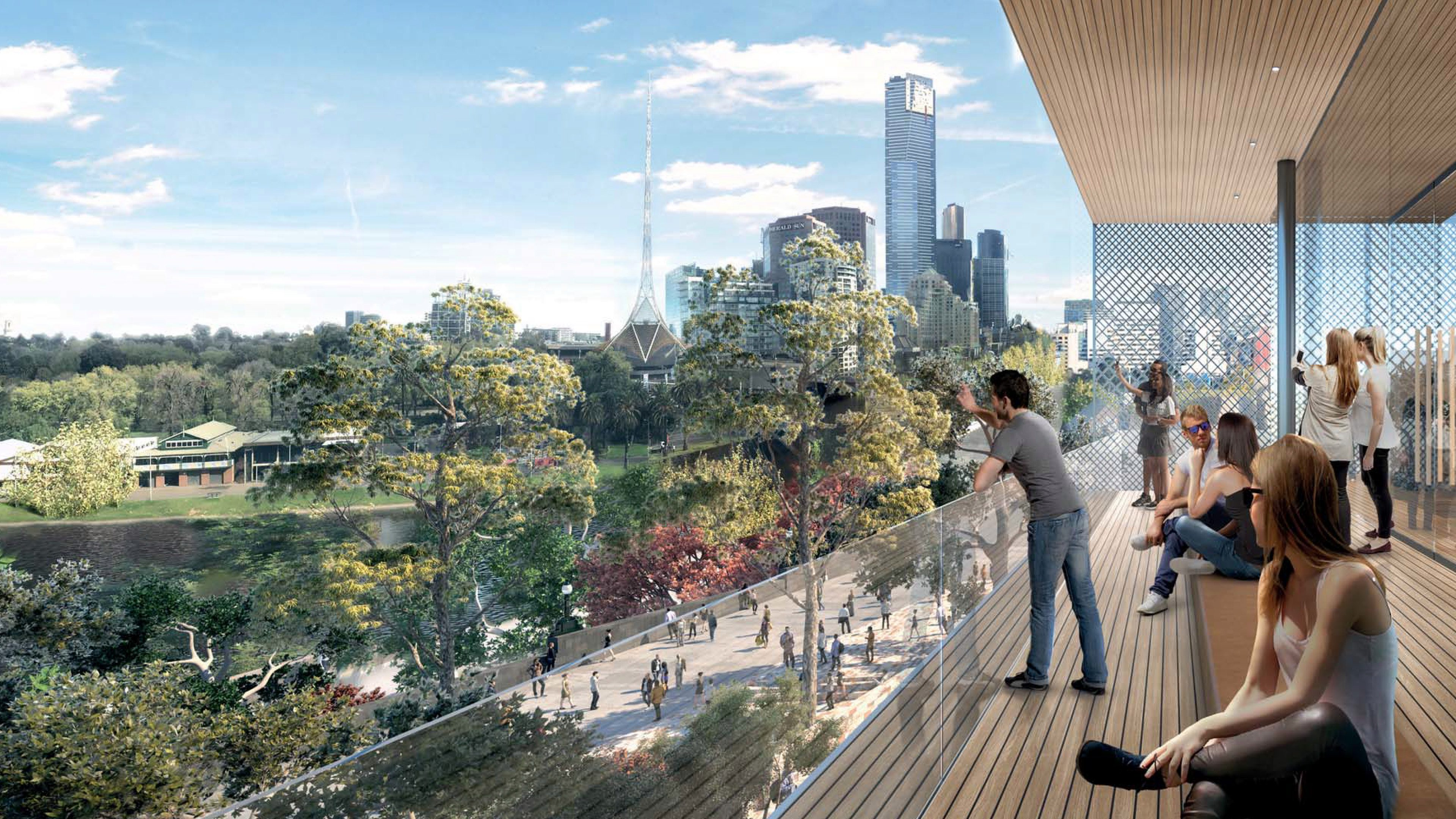 Projeto da Apple Store em Melbourne