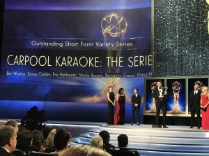 Apple ganha Emmy por Carpool Karaoke