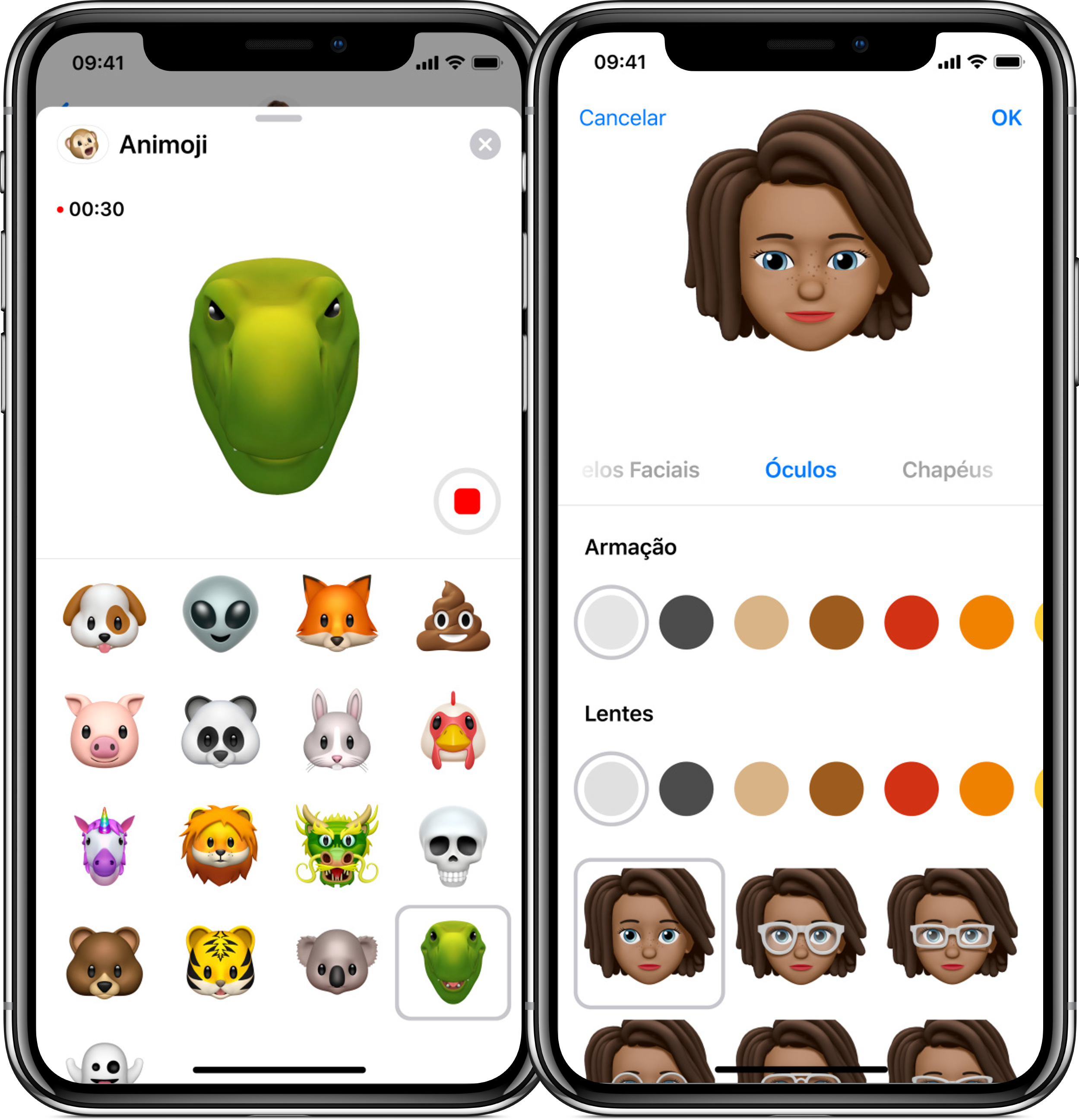 Animoji e Memoji no iOS 12