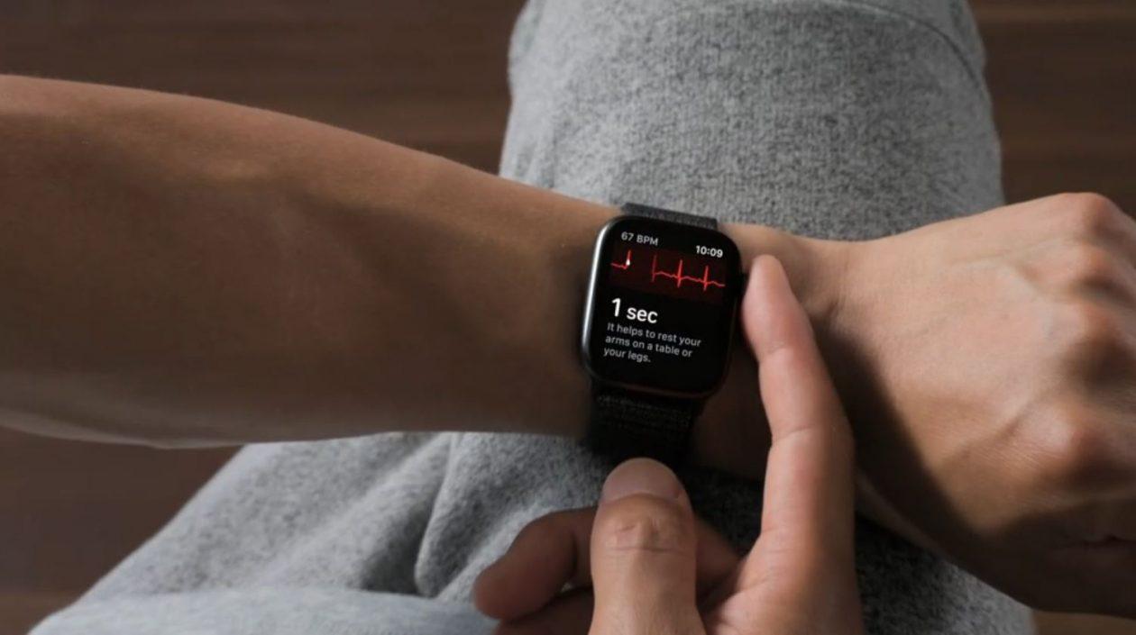 Recurso de eletrocardiograma (ECG) no Apple Watch Series 4