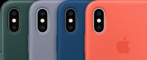 Cases para iPhones Xs e Xs Max