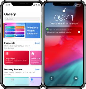 Atalhos da Siri no iOS 12