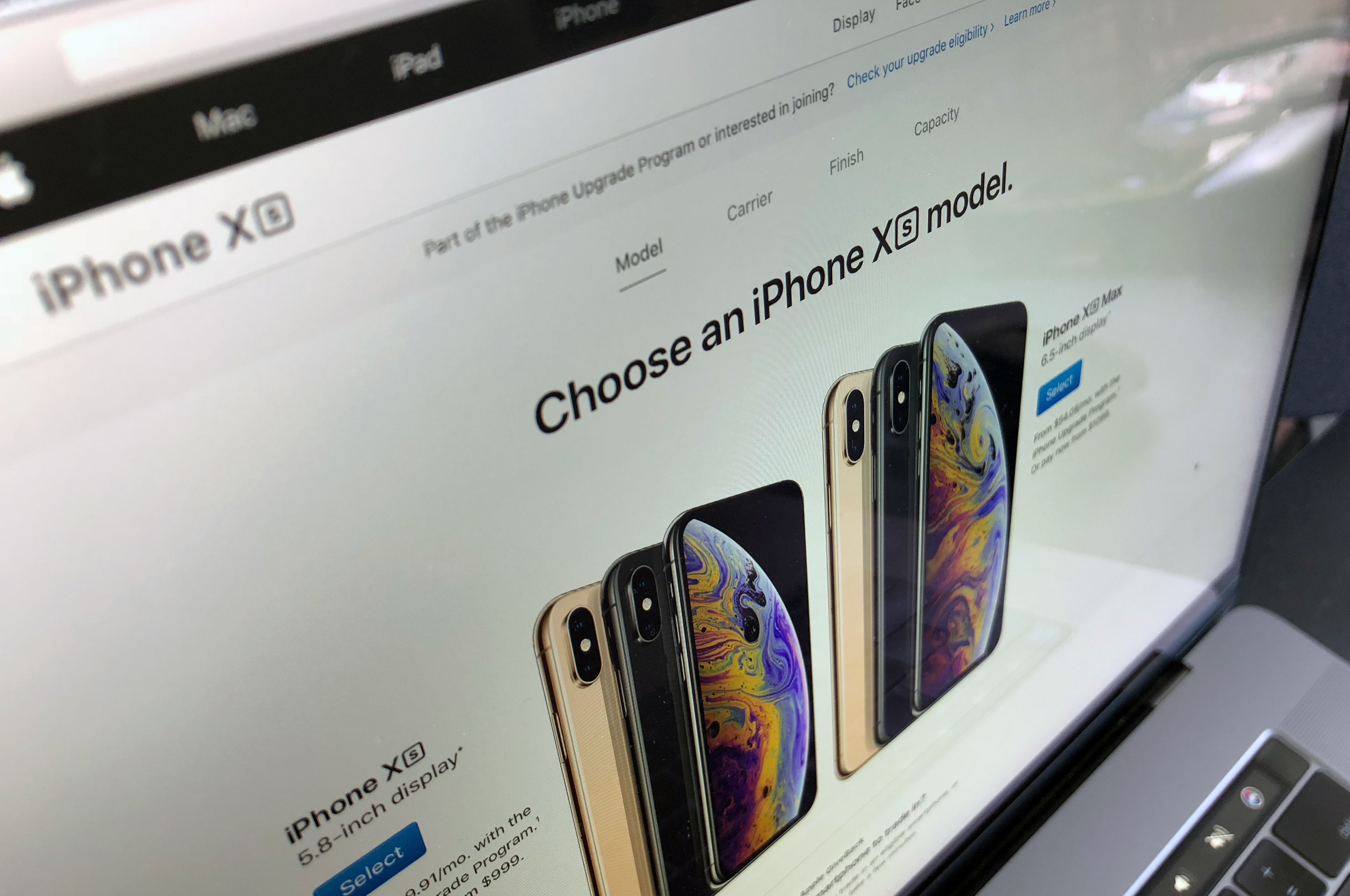 Pré-venda do iPhone Xs