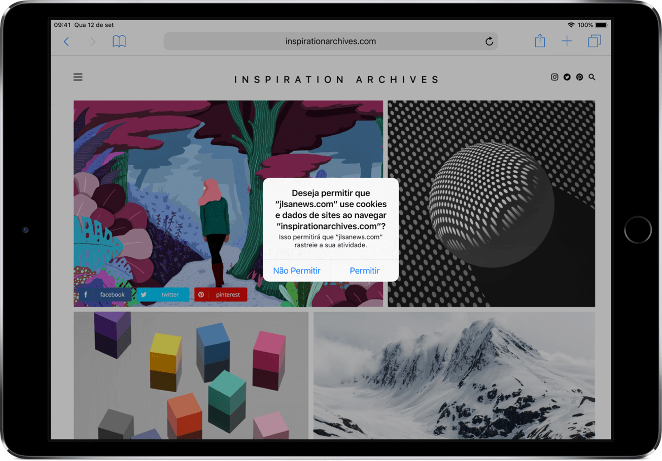 Privacidade no iOS 12