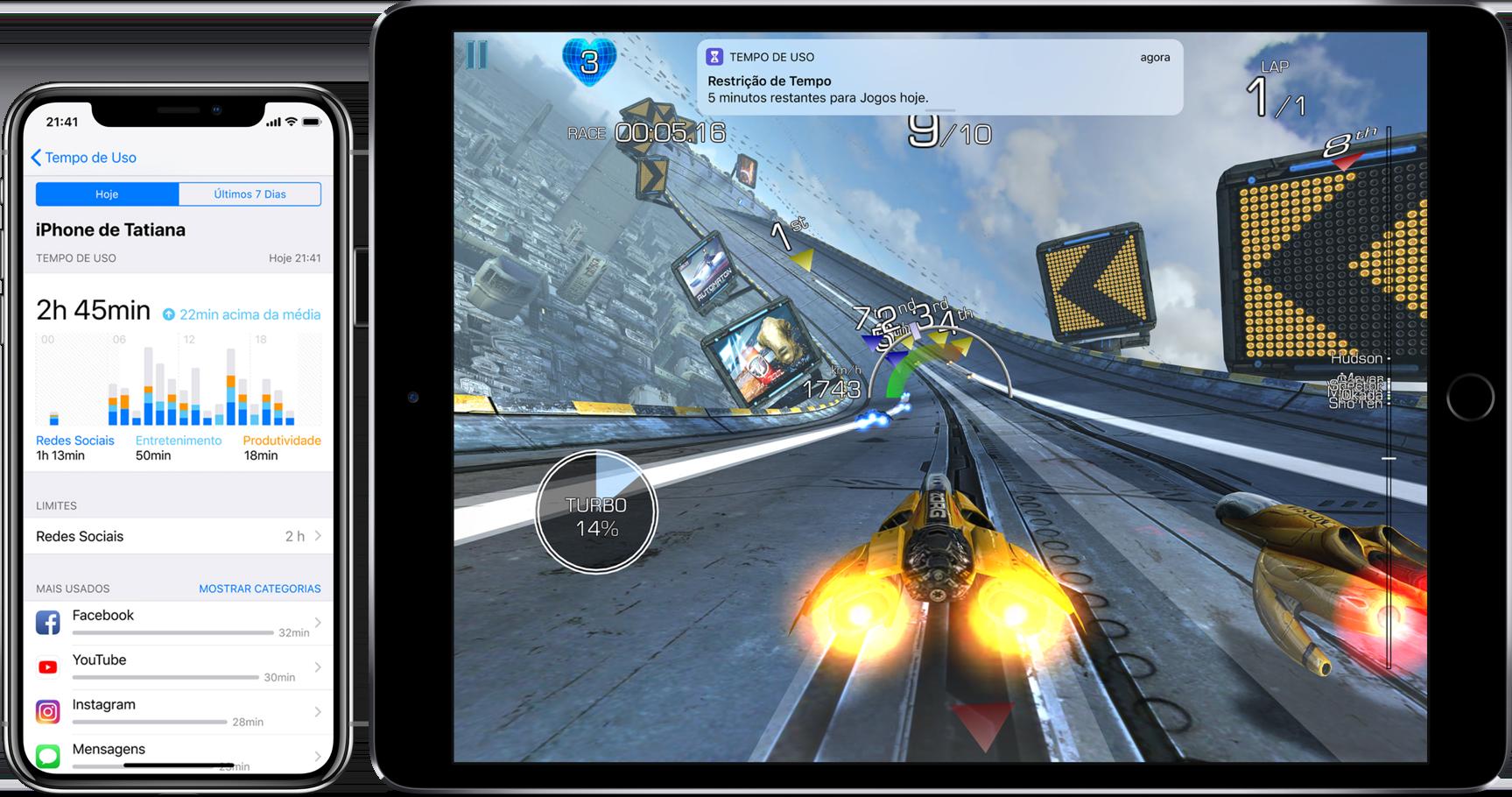 Tempo de Uso no iOS 12