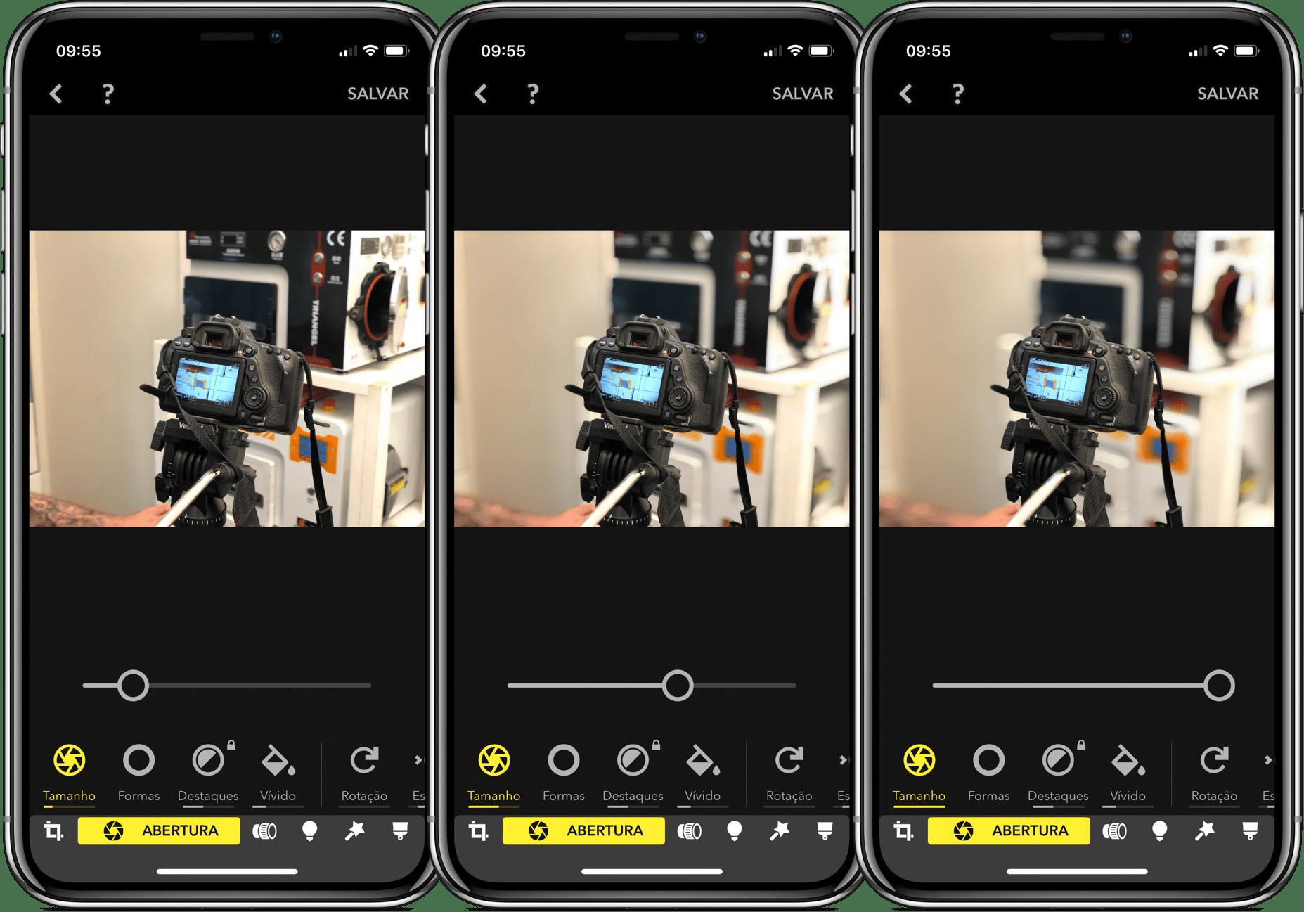 App Focos para iOS