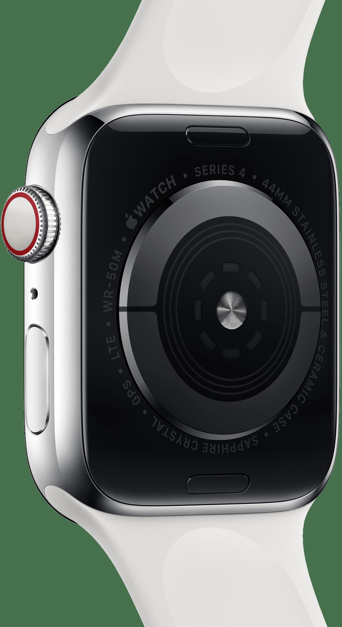 Sensores do Apple Watch Series 4