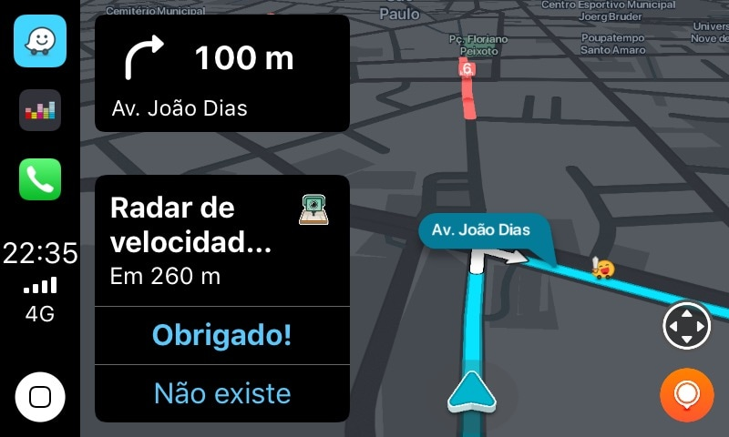 Waze no CarPlay